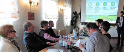 Sabine Dittmar, MdB, Tennet Runder Tisch in Massbach